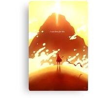 Journey Canvas Print