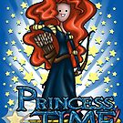 Princess Time - Merida by Penelope Barbalios