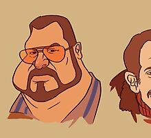 Coen Brothers Characters by Nathan Anderson
