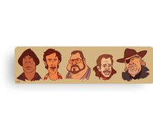 Coen Brothers Characters Canvas Print