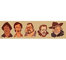 Coen Brothers Characters Photographic Print