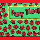 ladybug party invitation by picketty