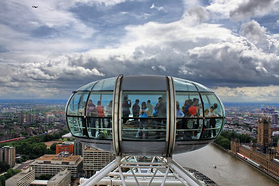 The London Eye by bidkev