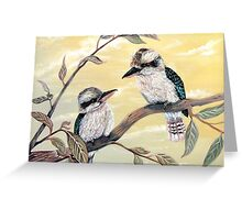 Kookaburra Magic Greeting Card