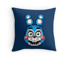 Five Nights at Freddy's 2 - Pixel art - Toy Bonnie Throw Pillow