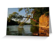 River HDR Greeting Card