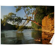 River HDR Poster