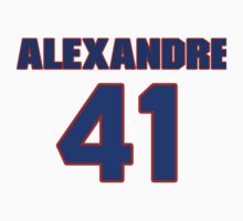 National Hockey player Alexandre Picard jersey 41 by imsport