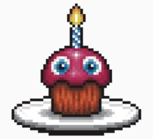 Five Nights at Freddy's 2 - Pixel art - Cupcake Kids Clothes