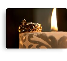 Loves Flame Canvas Print