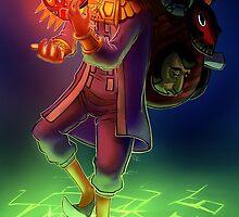 The Legend of Zelda - Happy Mask Salesman by Keikilani