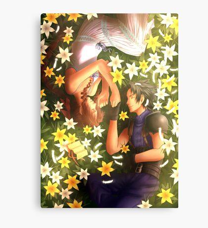 Final Fantasy VII - Zack and Aerith Canvas Print