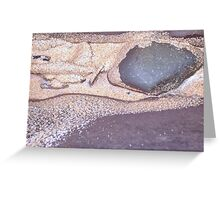 Beach Rock Greeting Card