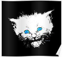 Happy Little Kitten Poster