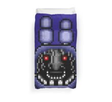 Five Nights at Freddy's 2 - Pixel art - Faceless Bonnie Duvet Cover