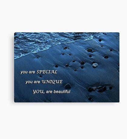 Ocean's Pebbles Canvas Print