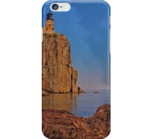 Sunset at Split Rock iPhone Case/Skin