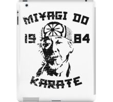 Miyagi Do Karate iPad Case/Skin