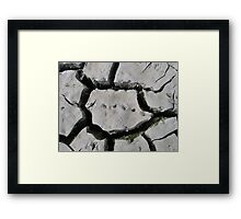 Crossing Continents Framed Print