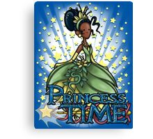 Princess Time - Tiana Canvas Print