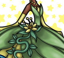 Princess Time - Tiana Sticker