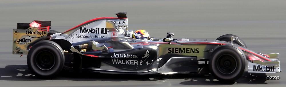 Juan Pablo Montoya - 2006 Australian Grand Prix  by ozzo