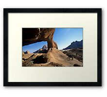 Rock Arch, Namibia Framed Print