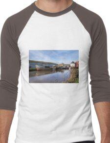 Along The Exeter Canal Men's Baseball ¾ T-Shirt