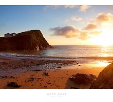 Hope Cove, Devon by Andrew Roland