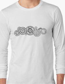 Doctor Who Galllifreyan Name Long Sleeve T-Shirt