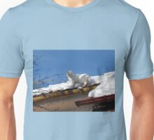 Up On the Roof with Albie Unisex T-Shirt