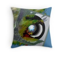 EARTH DAY, early birds, MOSSY Throw Pillow