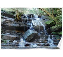 Somersby Falls - Gosford NSW Poster