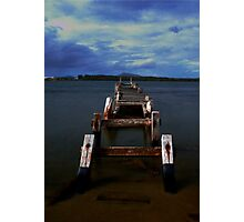 Broken Manning Point  Australia Photographic Print