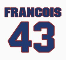 National Hockey player Francois Guay jersey 43 by imsport