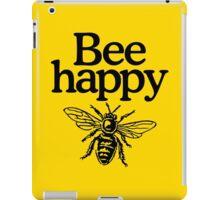 Bee happy iPad Case/Skin