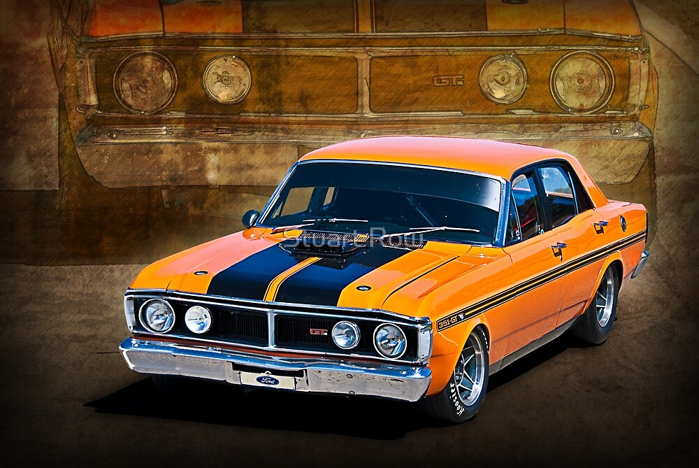 1971 Ford Falcon XY GT by Stuart Row
