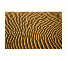 Sand pattern, Croajingalong National Park Art Print
