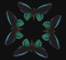 Butterfly circle T-Shirt