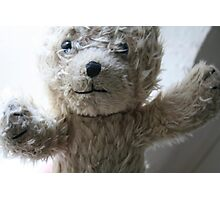 pink ted Photographic Print