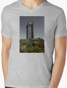 Scrabo Towering Mens V-Neck T-Shirt
