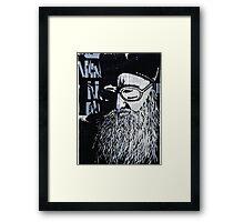 Rabbi Framed Print