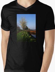 Spring Has Sprung Mens V-Neck T-Shirt