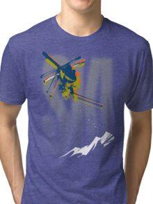 Ski Tri-blend T-Shirt
