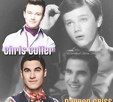 Glee Klaine Then and Now by DareBearEfron
