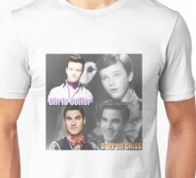 Glee Klaine Then and Now Unisex T-Shirt