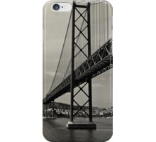 Lisbon's Golden Gate  iPhone Case/Skin