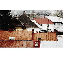 Ploesti Roofs. Romania Photographic Print