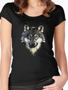 Wolf 4 Women's Fitted Scoop T-Shirt