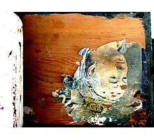 Crate Decaying Photographic Print